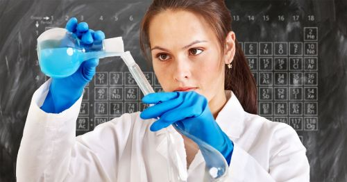 chemist laboratory periodic system