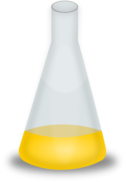 chemistry liquid yellow