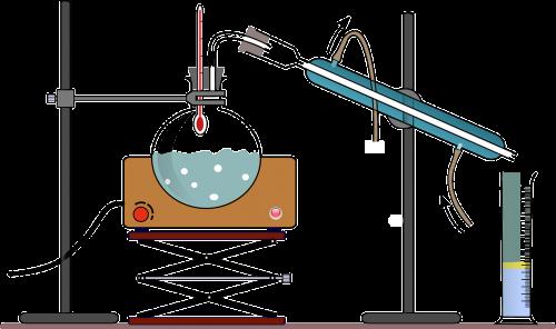 chemistry distillation experiment