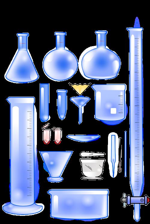 chemistry equipment glassware