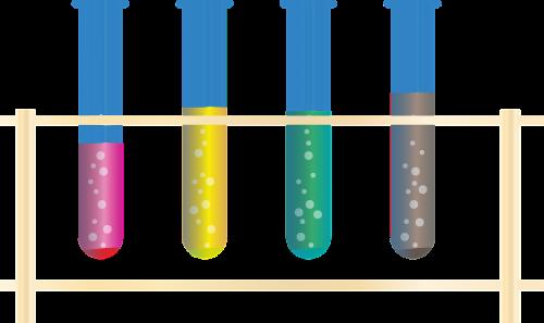 chemistry chemicals tube