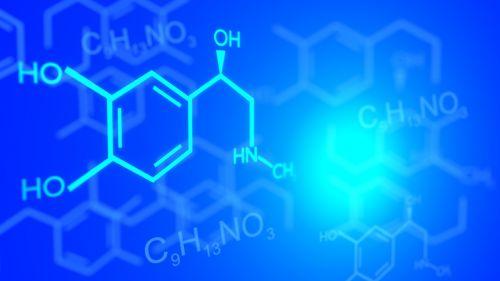 chemistry adrenaline structural formula