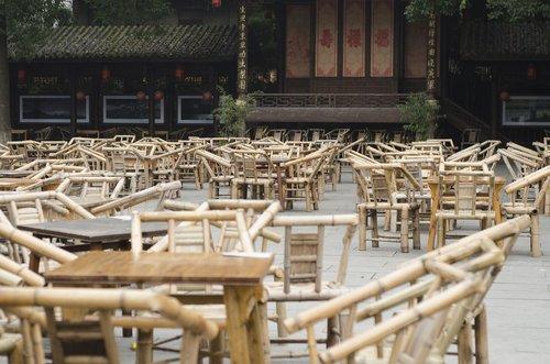 chengdu  teahouse  sichuan