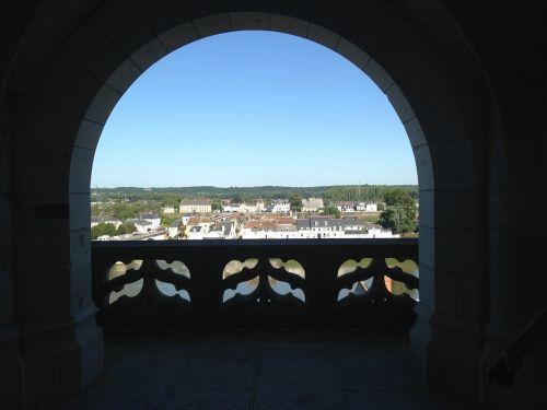 chenonceau porch castle