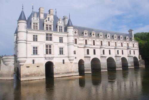 Chenonceaux,pilis,turizmas,renesansas,loire