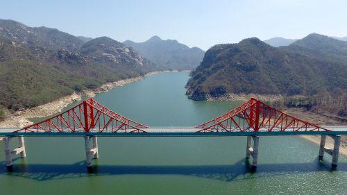 cheongpung lake jade simply representative bridge
