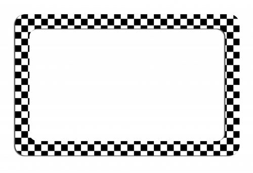Chequered Frame Clipart