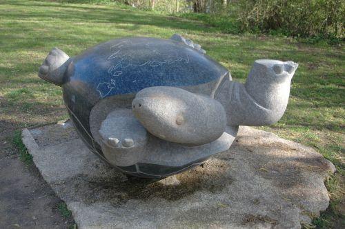 chernobyl monument turtle
