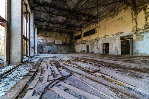 chernobyl  pripyat  basketball