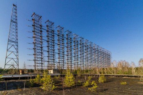 chernobyl  duga  radar