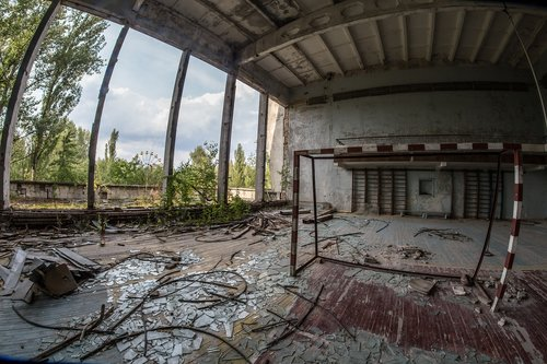 chernobyl  ukraine  abandoned