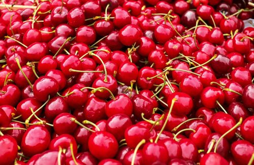 cherries sweet cherries heart cherries