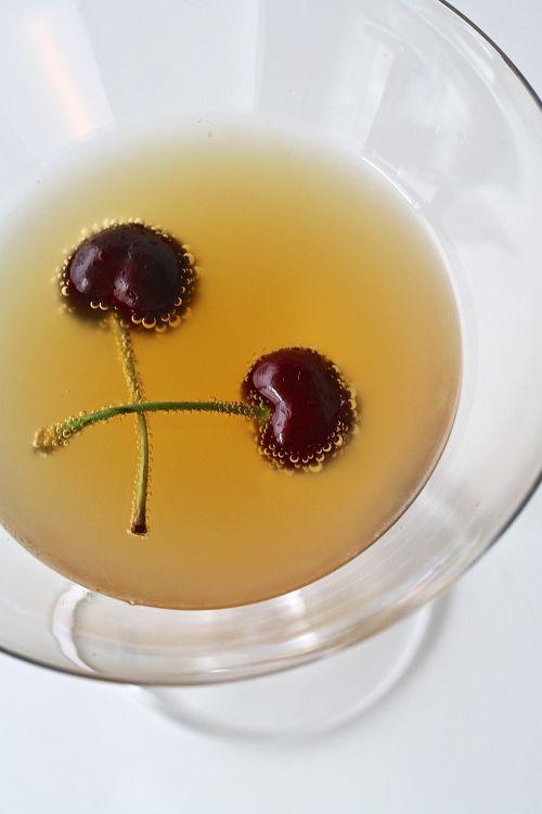 cherry drink martini