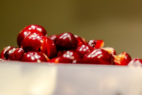 cherry fruit red