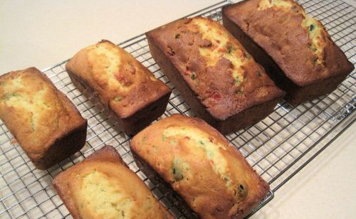 cherry loaf cakes mini cakes loaf cake size