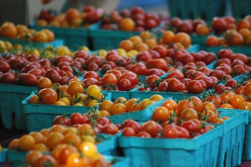 cherry tomatoes farmer market market