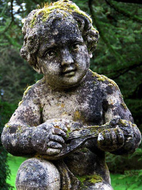 cherub statue angel