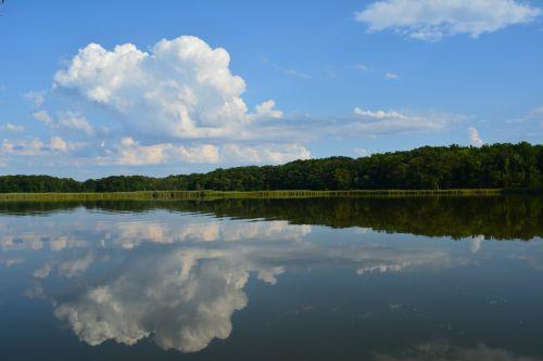 chesapeake bay water reflection
