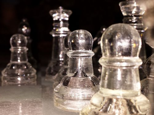 chess glass game