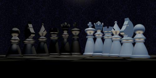 chess night sky star