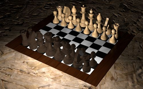 chess game board chess game