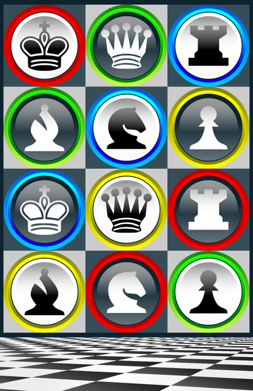 chess chess pieces patterns