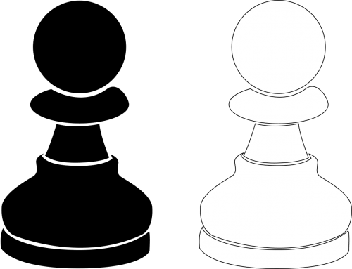 chess pawn parts