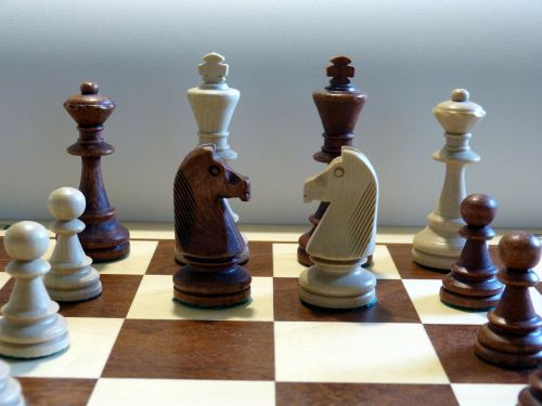 chess chess pieces chess game