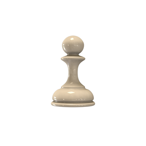 chess  figure white pawn  checkerboard