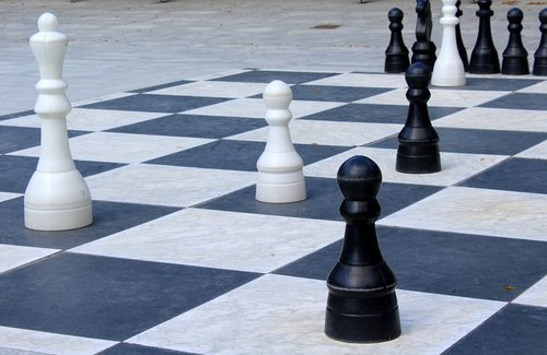 chess  checkerboard  game