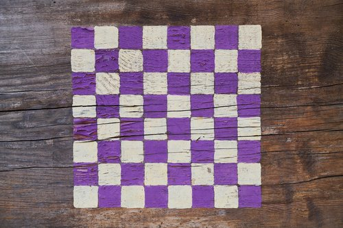 chess  square  purple