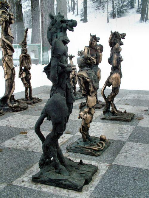 chess play piece