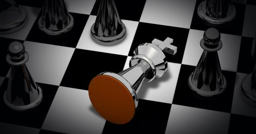 chess game checkmated chess