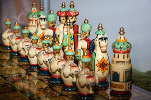 chess game chess pieces persia