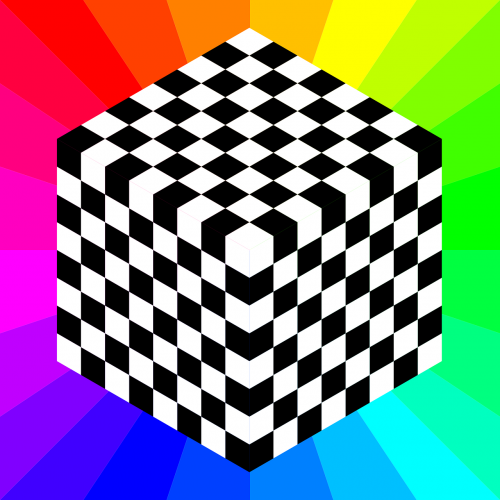 chessboard pattern squares