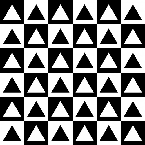 chessboard contrast squares