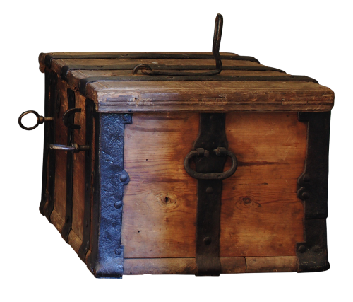 chest travel chest wood