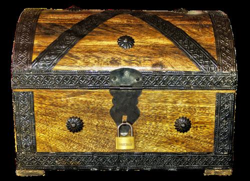 chest treasure chest box