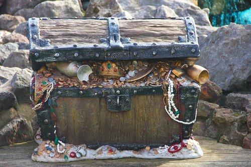 chest  treasure  pirate
