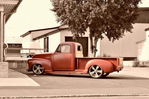 chevrolet chevy pickup