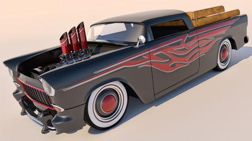 chevrolet chevy 1955