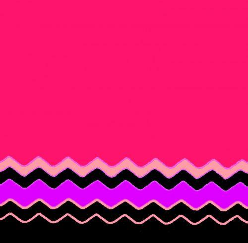 Chevron Pattern Pink Girl Stripes