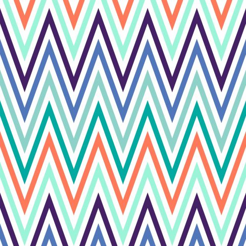 Chevrons Colourful Background