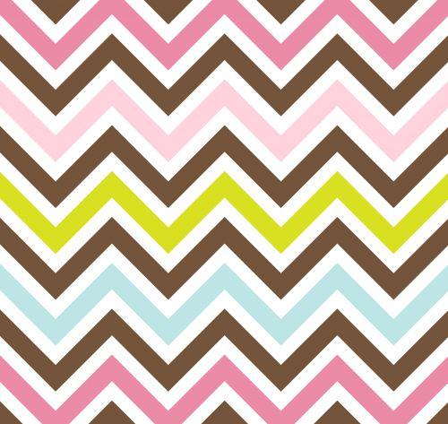 Chevrons Stripes Colors Background