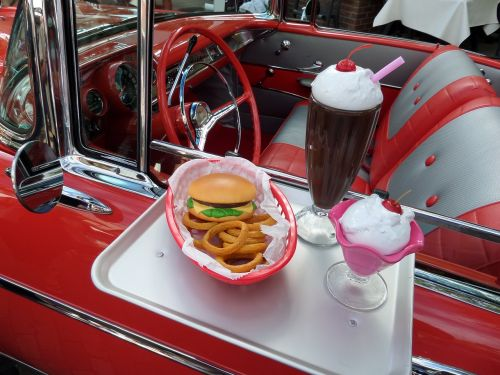 chevy classic car drive in movie