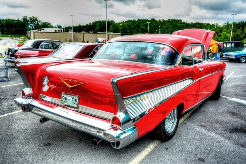 chevy bel air antique car