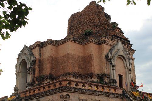 chiang mai stupa relic