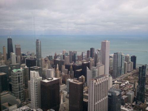 chicago city cityscape