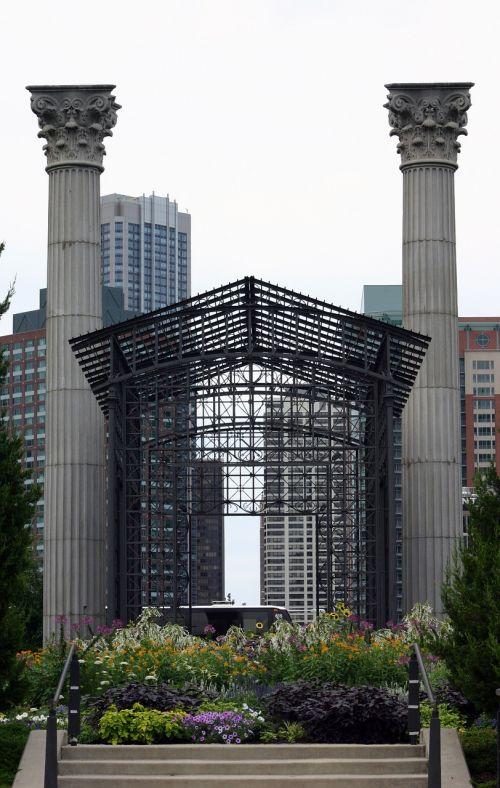 chicago millenium park lurie
