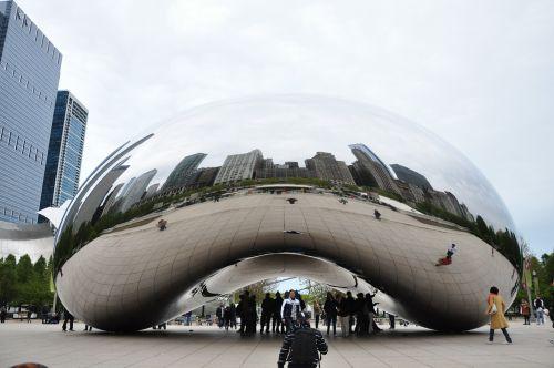 chicago bean reflection chicago